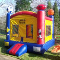 Character Sports Arena Bounce House