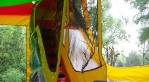 Slide Inside 4n1 Tropical combo bounce house